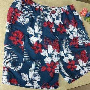"Waist Nwt Authentic Emporio Armani Pink Nylon Swim Shorts It 56-3xl 40"""